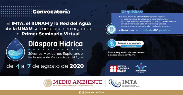 Convocatoria primer seminario virtual